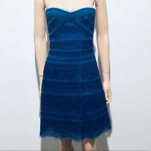 BCBG Maxazria Valentine Strapless Mini Dress(02)